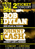 Pack Musica: Bob Dylan + Johnny Cash