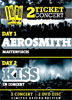 Pack Musica: Aerosmith + Kiss